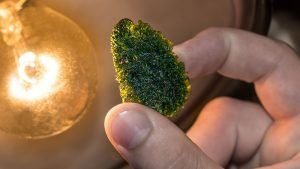 moldavite by your bed